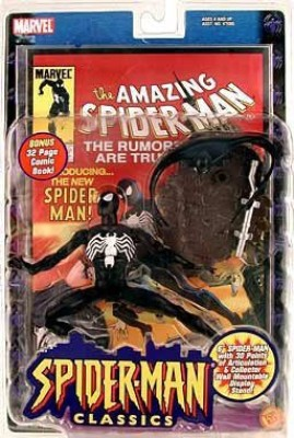 Spiderman Classics BLACK COSTUME SPIDER-MAN 6
