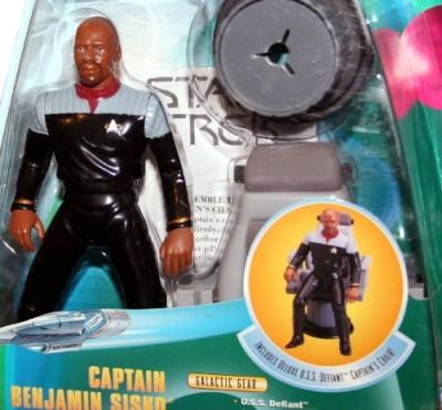Star Trek Captain Benjamin Sisko Deep Space Nine 1998 Warp Factor