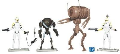 Star Wars Battle Packs Clone Troopers & Droids