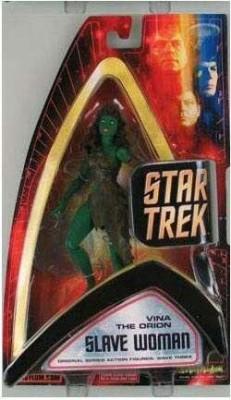 Art Asylum Star Trek 2004 Wave 3 Vina The Orion Slave Woman