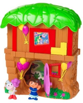 Fisher-Price Dora The Explorer Let,S Go Adventure Treehouse Mini Playset