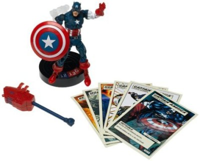 Toy Biz Marvel Super Hero Showdown Battle Caption America