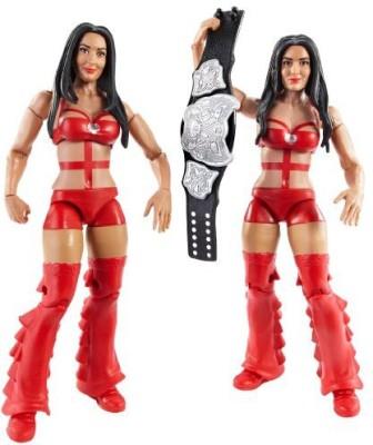 Mattel Wwe Battle Pack Bella Twins With Diva Title 2Pack
