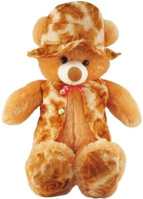 PIST Brown-Non-Toxic Modi Cap Teddy 45 Cm