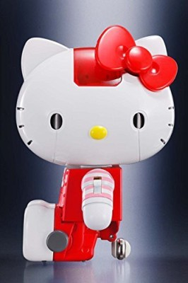 Bandai Tamashii Nations Chogokin Hello Kitty (Red Stripe Ver)