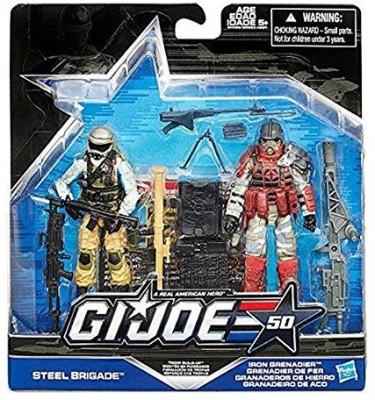 G I Joe 50Th Anniversarytroop Build Up Set [Steel Brigade