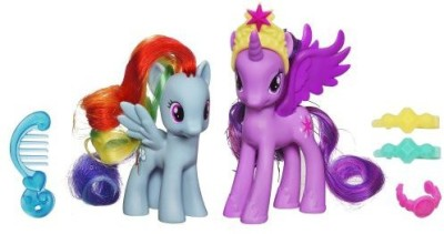 My Little Pony Princess Twilight Sparkle And Rainbow Dash