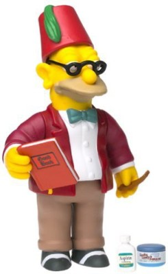 The Simpsons Series 9 Action Figure Sunday Best Grampa