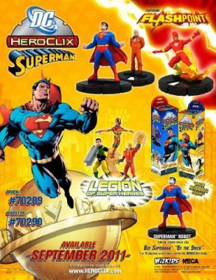 Superman Neca Wizkids Dc Heroclix Sealed Case Of 20 Boosters 2 Bricks