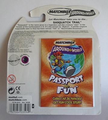 Mattel 2003 Matchbox Around The World Collection 12 Sasquatch