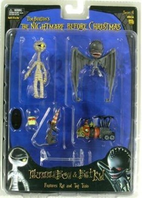 NECA Tim Burton's The Nightmare Before Christmas Series 4 Action Figure Mummy Boy & Bat Kid