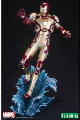 Kotobukiya Iron Man 3 Mark 42 Artfx + Statue