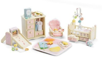 Calico Critters Baby's Nursery Set(Pink)