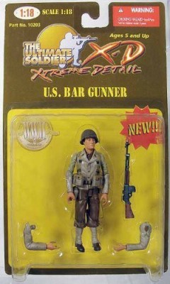 Ultimate Soldier Xd 1/8Th Scale Us Bar Gunner