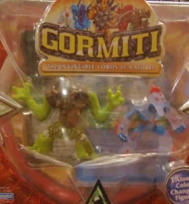 Playmates Gormiti Two Pack Ancient Sentry & Quarry Sergeant