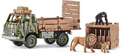 Schleich Safari Animal Rescue Truck Play Set