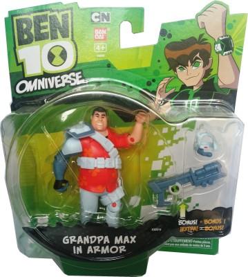 Ben 10 Grandpa Max in Armor