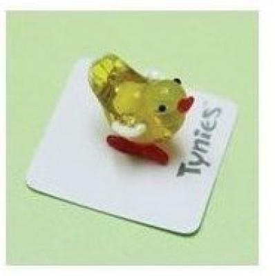 Tynies Pep The Chick Miniature Glass Figurine