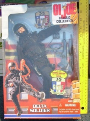 Hasbro Gi Joe Classic Collection Delta Soldier 12 Inch