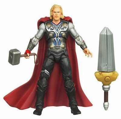 Thor The Movie The Mighty Avenger Action Figure #02 Sword Spike Thor 3.75 Inch