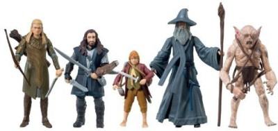 The Hobbit Exclusive Set Of 5 Includes Legolas Greenleaf Bilbo