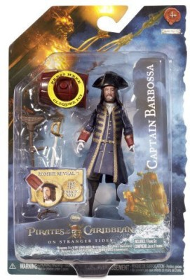 Pirates of the Caribbean On Stranger Tides Barbossa 4 Inch