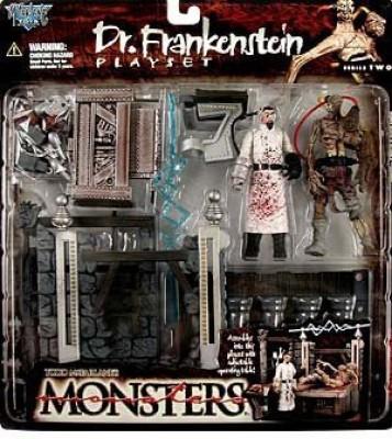 Monsters Mcfarlanes Series 2 Dr Frankenstein Playset