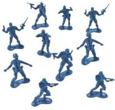 Fun Express Big Bag Of Blue Army Plastic Soldiers Army Men (144 Count)