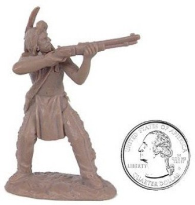 Toy Soldiers of San Diego Plains Indian Warriors Plastic Army Men 12 Piece Set