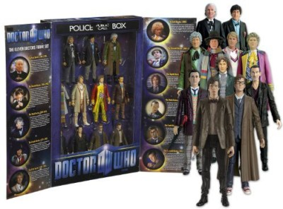 Character Options Doctor Who 11 Doctors Collector Set