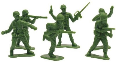 Creative Converting Green Army Men