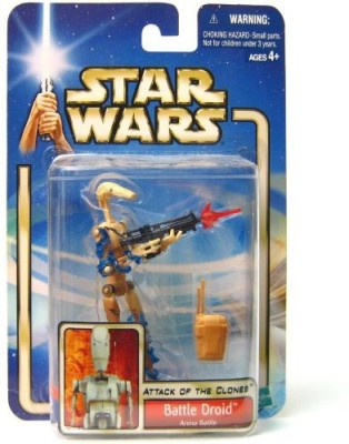 Star Wars Stars Wars Attack Of The Clones (Aotc) Battle Droid Arena