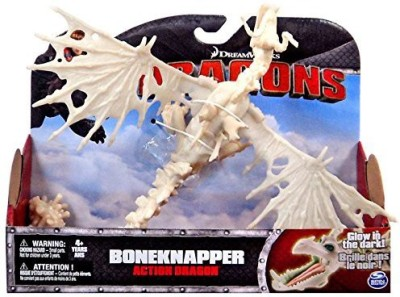 Dreamworks Dragons Dragons Action Dragon Figure, Boneknapper