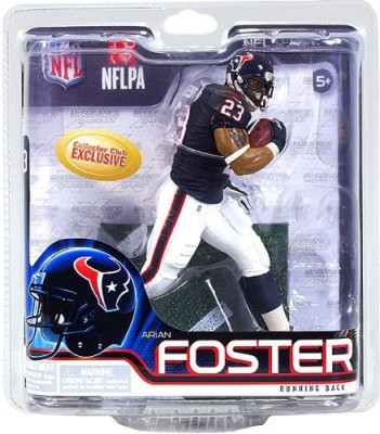 NFL Mcfarlane Arian Foster Collectors Club Exclusive 31 Rookie