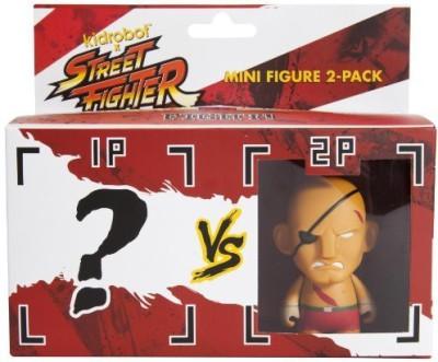 Kidrobot Street Fighter Sagat Mini 2Pack