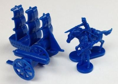 Morrison Games Napoleonic & Civil War Military Miniatures (Blue) Plastic