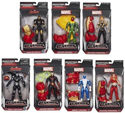 Avengers Marvel Legends Iron Manblizzardwar Machine And Morewave 3