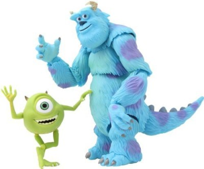 Kaiyodo Monsters Inc Mike & Sallyrevoltech 028 Super Poseable