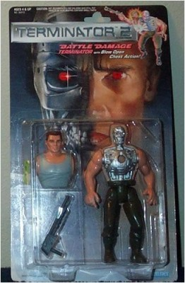 Terminator 2 Battle Damage Blow Open Chest