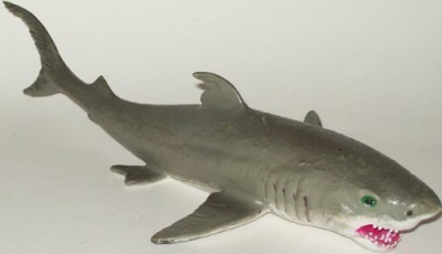 Phil Seltzer Rubber Great White Shark Ocean Predator10