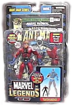 Toy Biz Marvel Legends Exclusive Series Ant Man With Giant Man