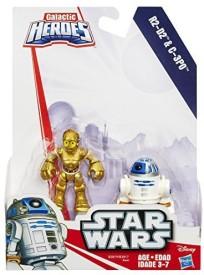 Playskool Heroes Star Wars Galactic Heroes R2-D2 and C-3P0(Multicolor)