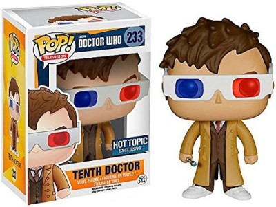 Pop Funko Television 221 Dr Who Tenth Doctor With 3D Glasses