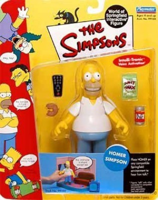 The Simpsons Wave 1 Playmates Homer Simpson