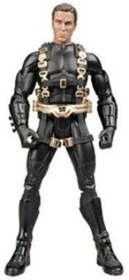 Batman Dark Knight Movie Master Exclusive Deluxe Survival Suit