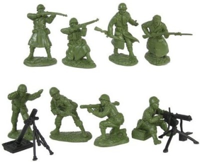 Toy Soldiers of San Diego Wwii Us Army Infantry Fire Support Plastic Green Army Men