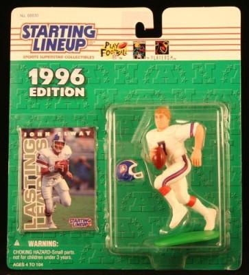 Starting Line Up John Elway / Denver Broncos 1996 Nfl Starting Lineup