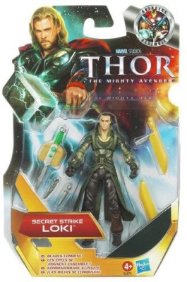 Thor The Mighty Avenger 04 Secret Strike Loki 375 Inch