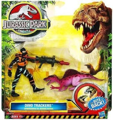 Jurassic Park Dino Trackers Spinosaurus Vs Marine Patrol Set