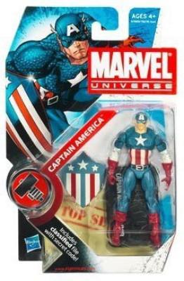 Hasbro Marvel Universe Wave 7 Captain America Action Figure